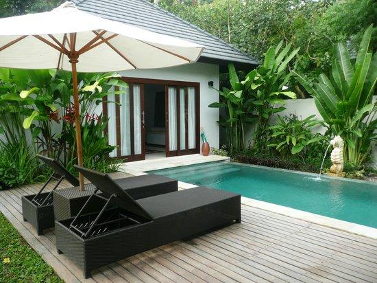 Kebun Villas & Resort: Pool villa