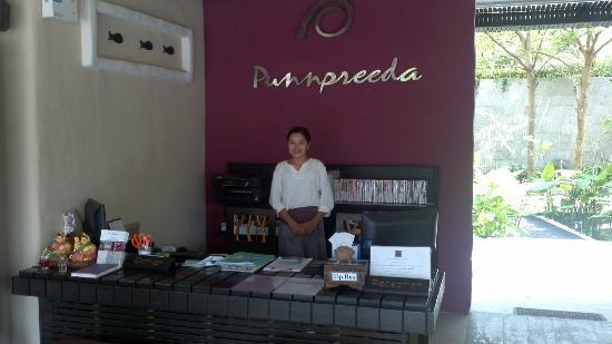 Punnpreeda Beach Resort: Reception