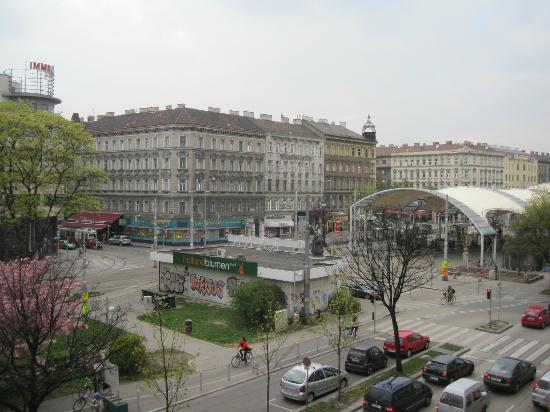 Arcotel Wimberger Hotel: 部屋からの眺め