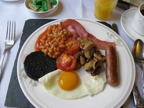 Beechgrove Guest House: Full Scottish breakfast