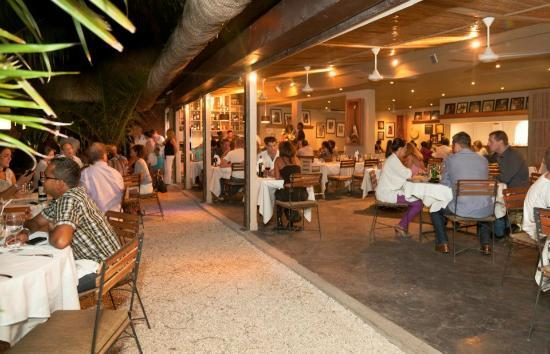 Gourmet Grill Mauritius : Entrance of the restaurant