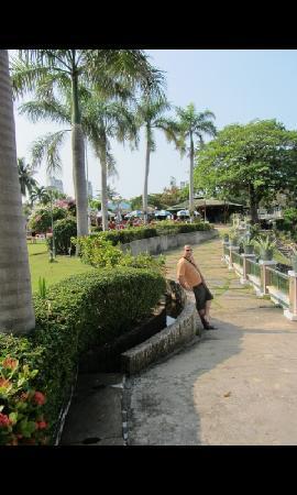 Asia Pattaya Hotel: Hotel's Yard