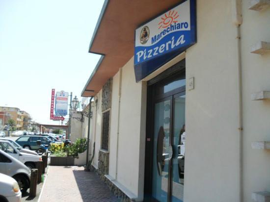 Marechiaro Beach : Entrata ristorante