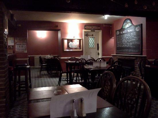 Three Horseshoes Inn: Dining area