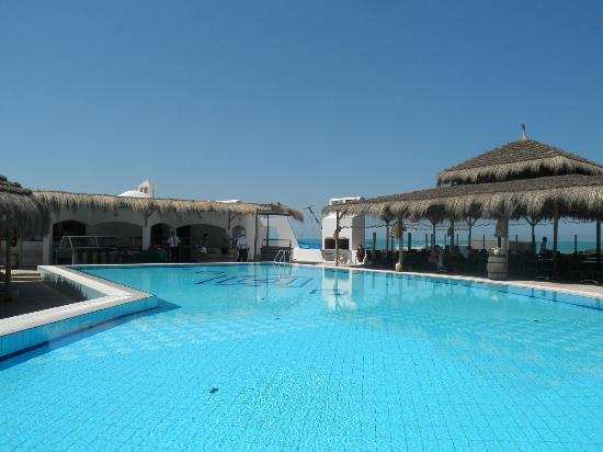 Playa Sidi Mehrez, Túnez: resto plage