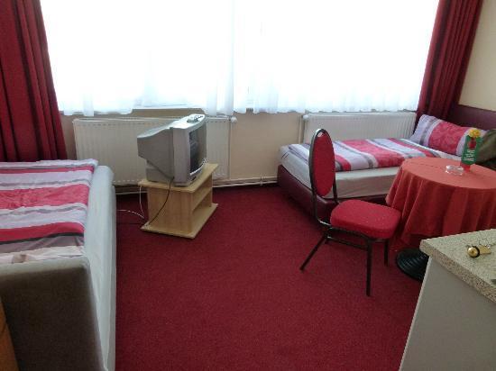 Appartementhotel Hamburg: Zimmer mit 2 Einzelbetten