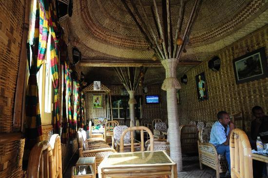 Butajira, Эфиопия: La sala da pranzo