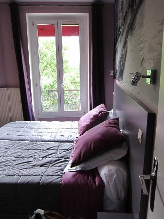 Hôtel Odessa Montparnasse : 客室 ツインルーム