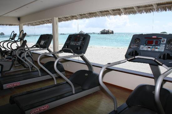 gym picture of club med kani kanifinolhu island tripadvisor. Black Bedroom Furniture Sets. Home Design Ideas