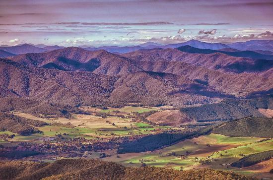 Bright On Track: View from Mt Buffalo