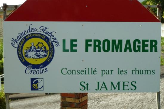 Le Fromager: Panneau