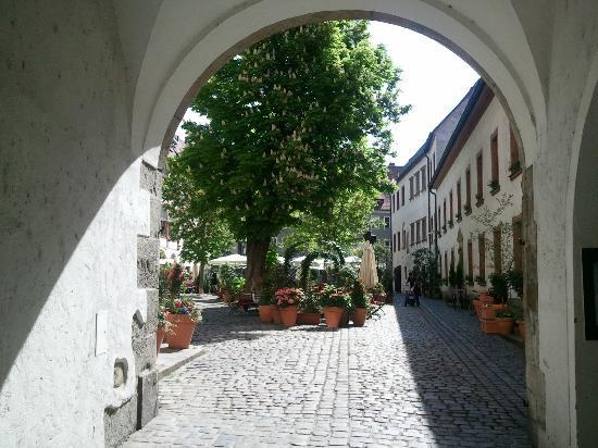 Bischofshof am Dom: from the stree side