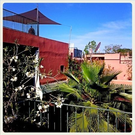 Riad L'Aziza : les terrasses