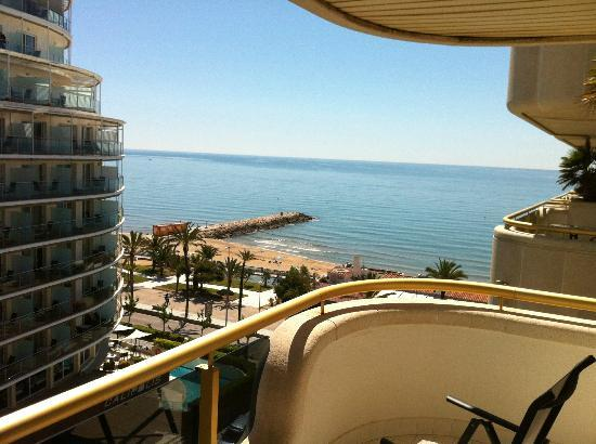 Mediterraneo Sitges: view from my apartmeent.