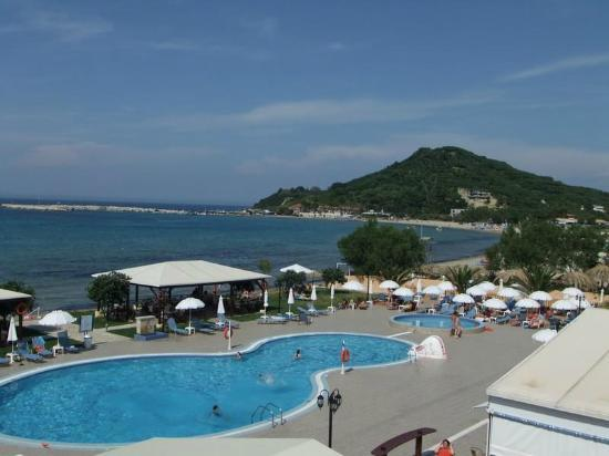 Alykanas Beach Apart-Hotel: view from the balcony on the third floor
