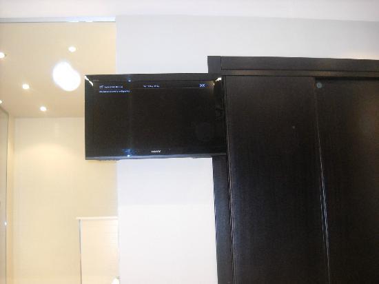 Hotel San Pedro: TV de plasma .
