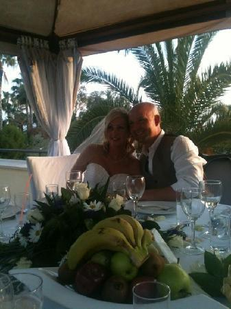 Elias Beach Hotel: At the reception