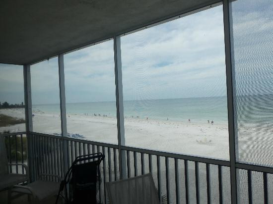 Crescent Arms Condominiums: Full beach view to the left