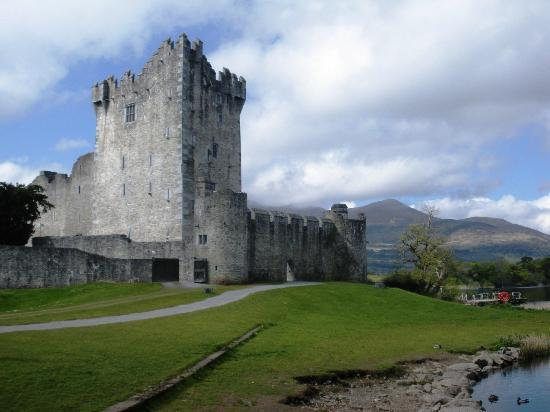 Woodlawn House Killarney: Ross Castle - walking distance (or by horse & buggy)
