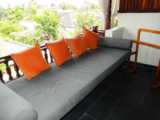 Kuta Seaview Boutique Resort & Spa: Lanai Deluxe Room's Balcony