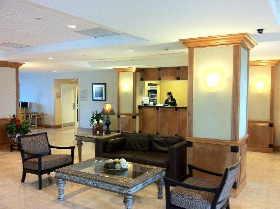 Homewood Suites Miami-Airport / Blue Lagoon: Recepção