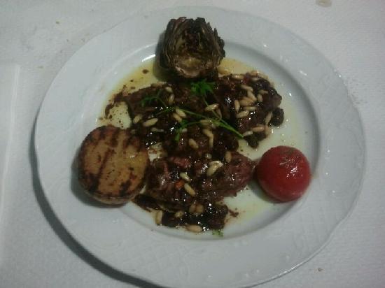 Restaurante Juquim: filet jabali