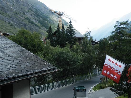 Hotel Matterhornblick : Vu depuis le balcon