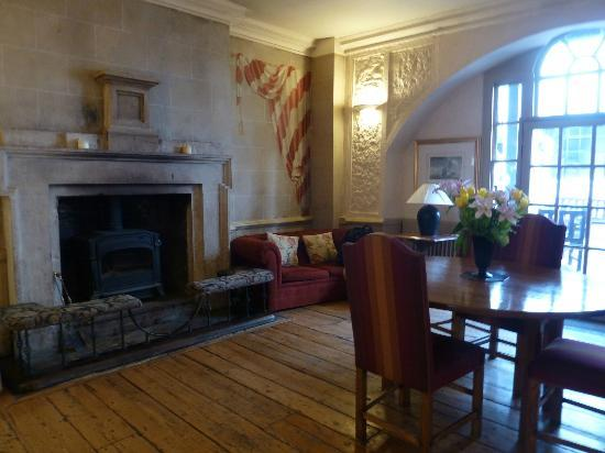 Marlborough Arms: reception area