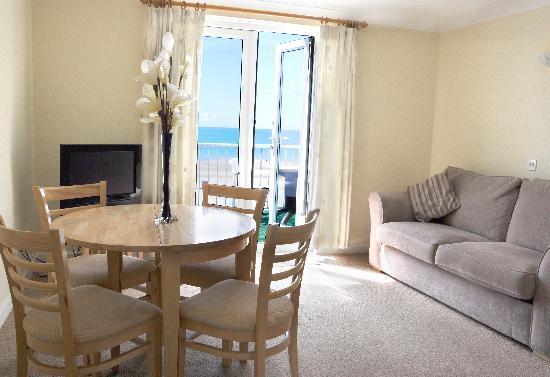 Beau Rivage Hotel: Sea view Balcony Lounge