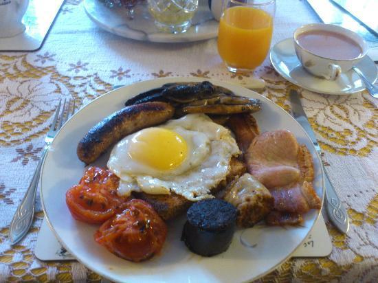 The Hive Bed and Breakfast: Desayuno Full English Breakfast