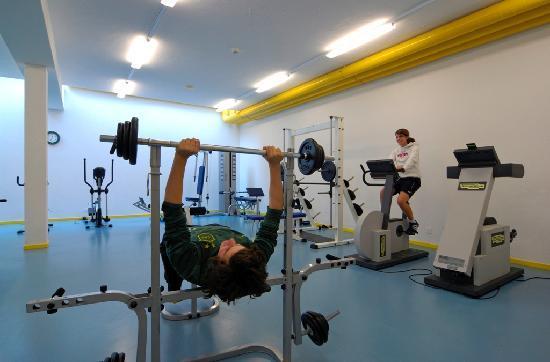 Hotel Alpin: Fitnessraum