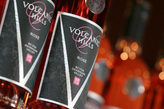 West Kelowna, Canada: Award winning Rose wine