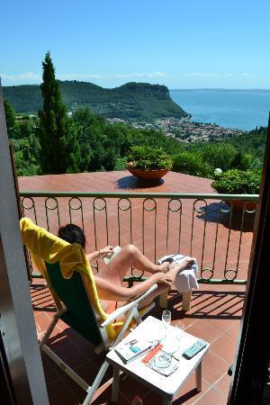 Hotel Madrigale: Flot udsigt og plads til solbadning