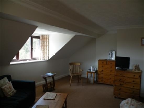 Sladesdown Farm: Rooms having seating areas