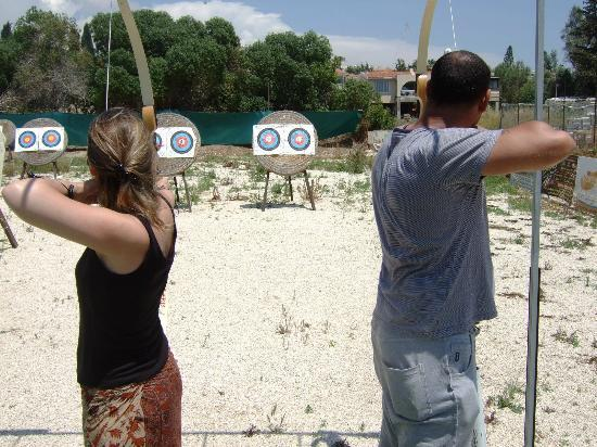 Chlorakas, Chipre: sherwood archery Paphos May 2012
