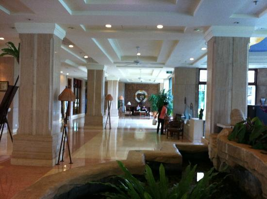 Crown Spa Resort Hainan: Lobby