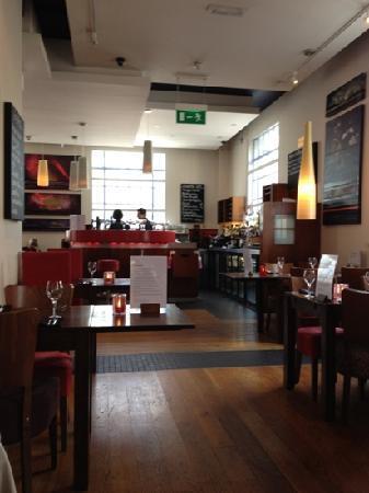 Morgan's Italian: The bar at Morgan's