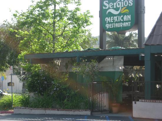 Front of Sergio's Mexican Restaurant - Glendora