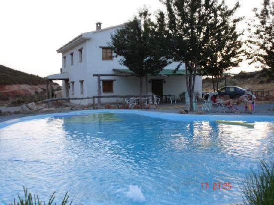 Casa rural con piscina granada picture of casa rural for Piscina la granada