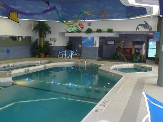 Holiday Inn Winnipeg South: Relax in our pool and whirlpool