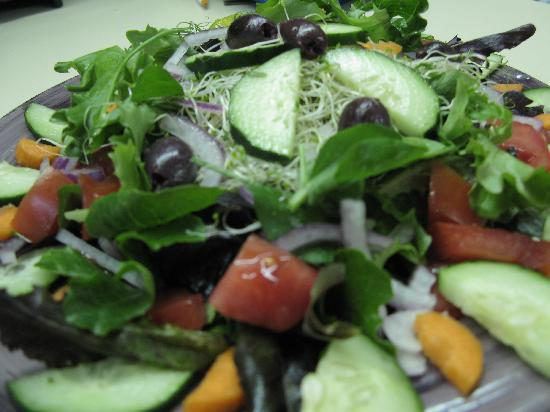 Whole Earth Grocery Cafe: Healthy Salad Options