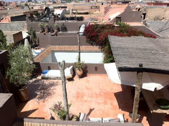 Riad Timila : The rooftop terrace