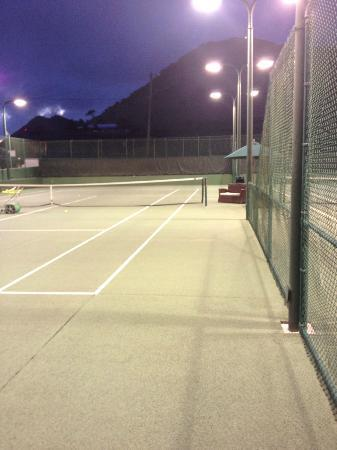 American Tennis Academy: beautiful night for tennis