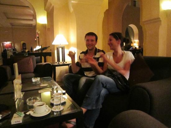 Alhambra Thalasso Hotel: Lobby Bar