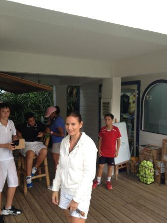 American Tennis Academy: Here is the Boss