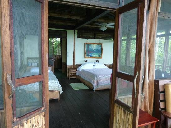 Iguana Lodge: Master bedroom at Villa Villa Kula - 3rd floor