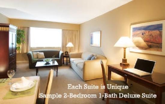 Rosellen Suites At Stanley Park : Sample 2-Bedroom 1-Bath Classic