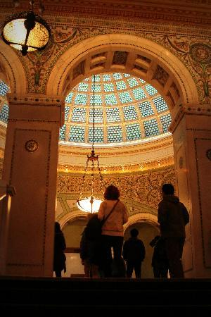 Waxwing Puzzle Company: The largest Tiffany glass dome. You'll have to play to find out where it is...