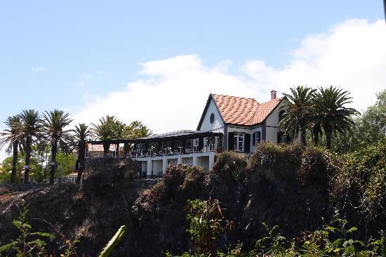 Ristorante Villa Cipriani: Villa Cipriani von Reid's Garden gesehen