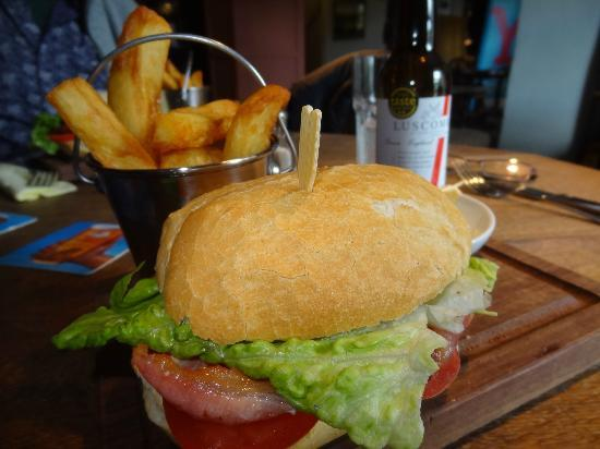 Lister Arms: Bacon Butty